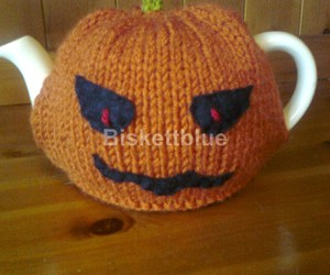 pumpkin, scary, and halloween gift image
