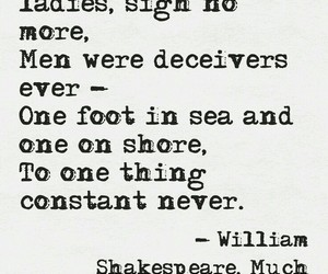 men, quote, and shakespeare image