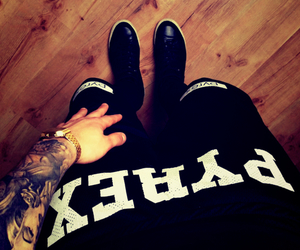 pyrex, swag, and tattoo image