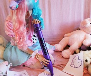 cute, kawaii, and fairy kei image