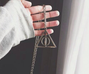 deathly hallows, hipster, and pale image