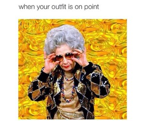 funny, outfit, and lol image
