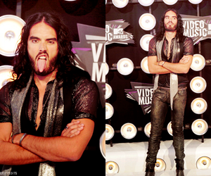 comedian, russell brand, and vma image