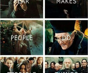 fear and harry potter image
