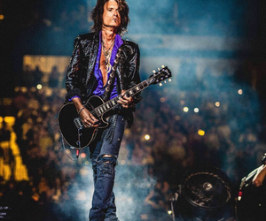 aerosmith, guitar, and perry image