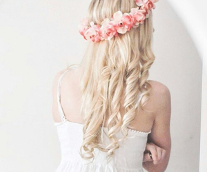 blonde, hairstyles, and pretty image