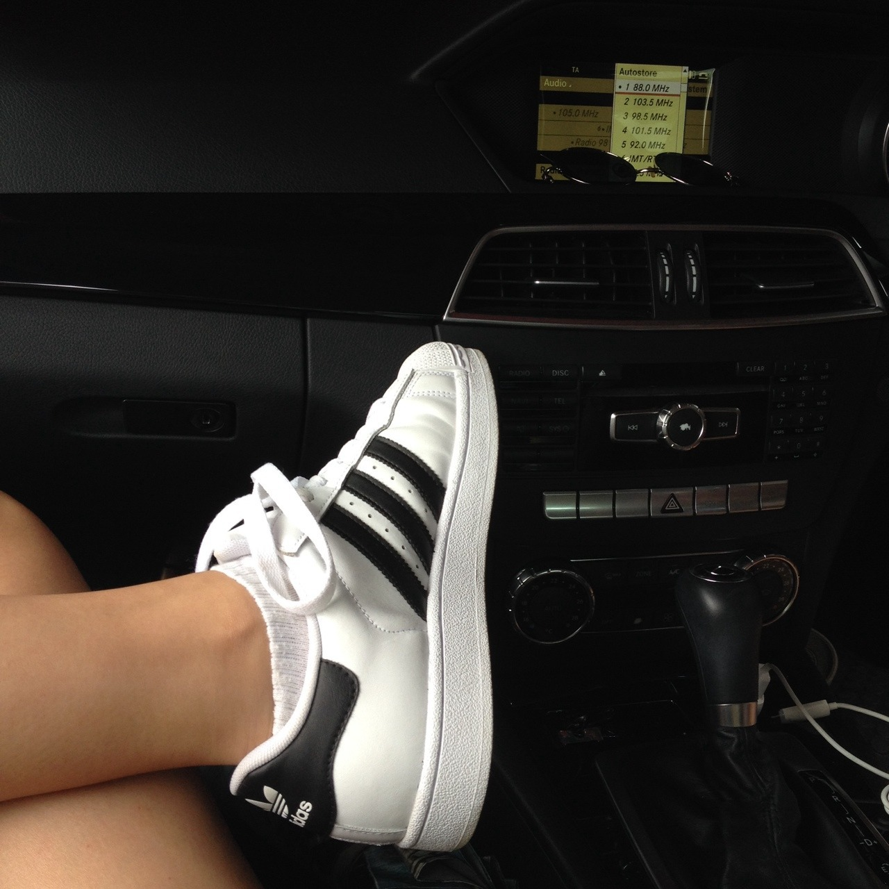 adidas, shoes, and car image