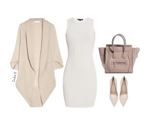 cardigan, dress, and outfit image