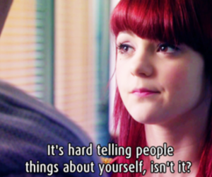 skins, quote, and emily image
