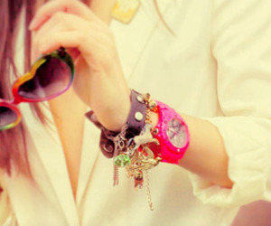 fashion, bracelet, and girl image