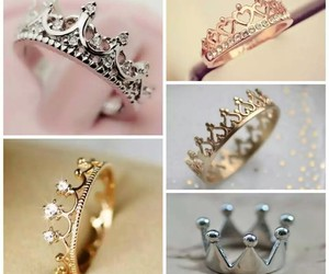 rings, crown, and ring image