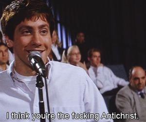 donnie darko, antichrist, and jake gyllenhaal image