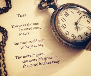 time and poem image