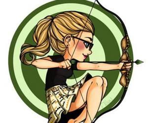 arrow, Felicity, and cute image