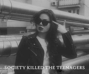 girl, grunge, and prison image