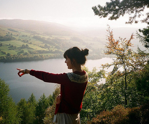 beauty, exploring, and girl image