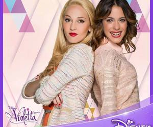 violetta, martina stoessel, and mercedes lambre image