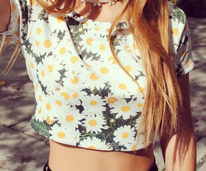 flowers, fashion, and summer image