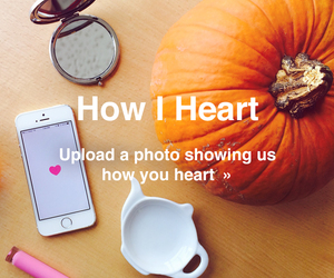 we heart it, fall, and pumpkin image