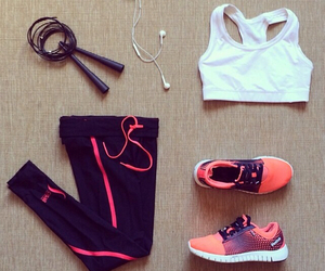 fitness, outfit, and workout image
