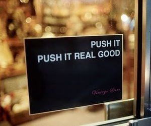 funny, push, and push it image