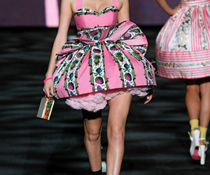 Couture, chic fashion, and betsey johnson runway image