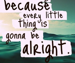 quote, alright, and text image