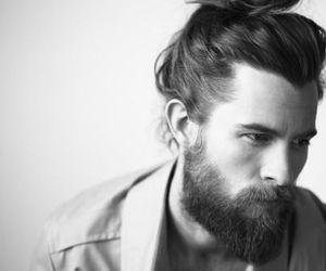 beard, boy, and man image