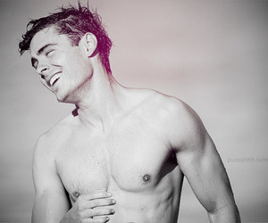hair, Hot, and zac efron image