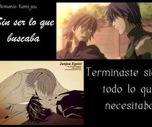 amor, frases, and yaoi image