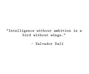 quote, ambition, and wings image