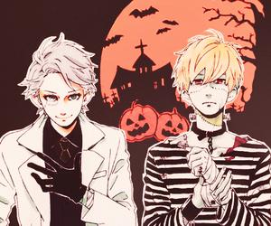 hirunaka no ryuusei, manga, and Halloween image