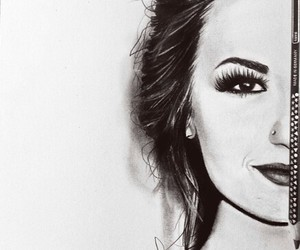 beautiful, demi, and drawing image