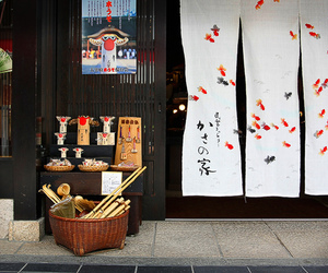japan, shop, and street image