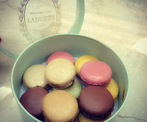 gift, paris, and food image