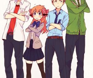 chiyo sakura, anime, and gekkan shoujo nozaki-kun image