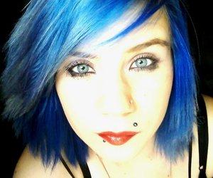blue eyes, eye, and eyes image