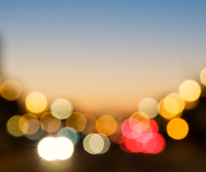 blurred, city, and lights image