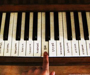 piano, me, and music image