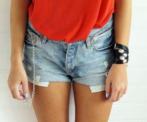 nails, blogger, and bracelet image