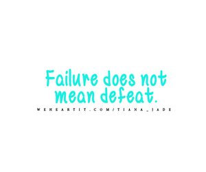 defeat, failure, and quote image