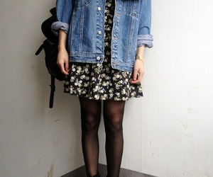 fashion, dress, and grunge image