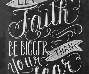 faith, fear, and be image