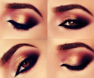 autumn, makeup, and beautiful image