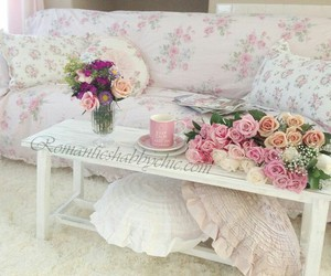 decor, interiors, and floral image