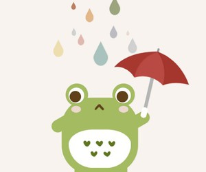 drop, frog, and green image