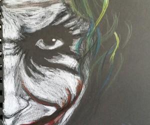 comics, drawing, and joker image
