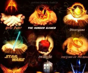 harry potter, doctor who, and twilight image