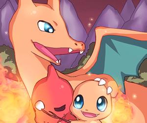 charmander, fire, and pokemon image