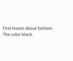 fashion, black, and quotes image